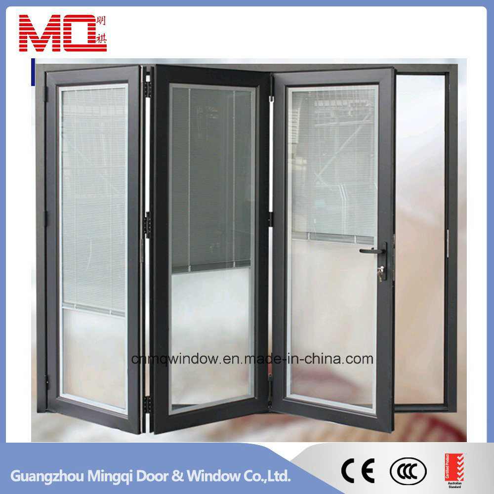 Commercial Accordion Aluminum Folding Door Mqd-2