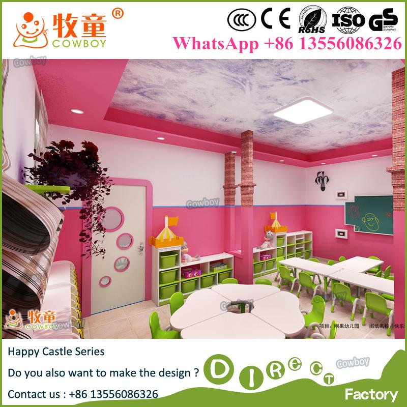 Children Play School Classroom Furniture for India Market