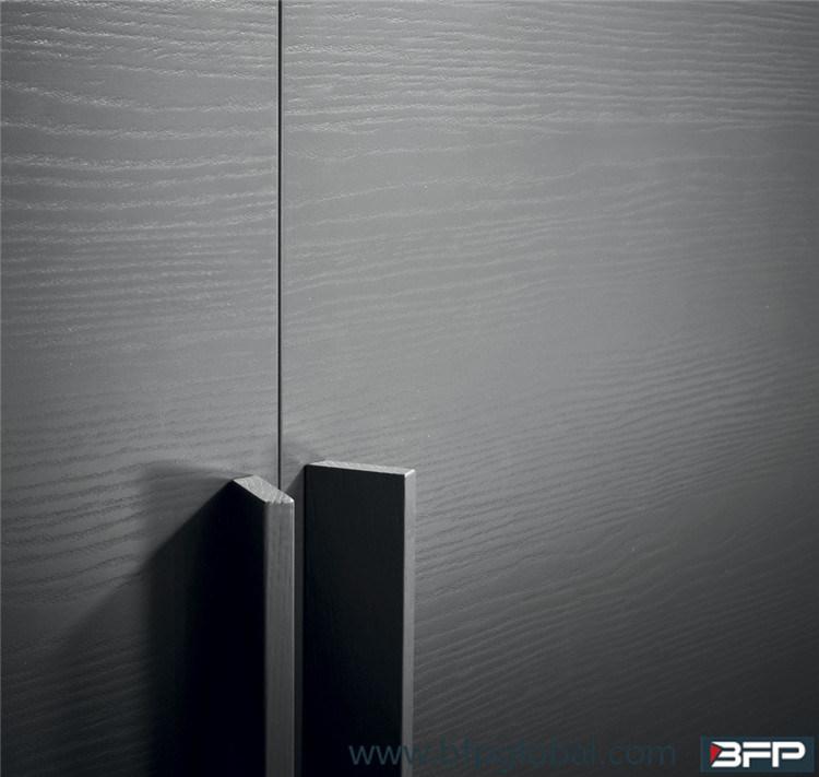 Modern Laminated Sliding Door Bedroom Closet