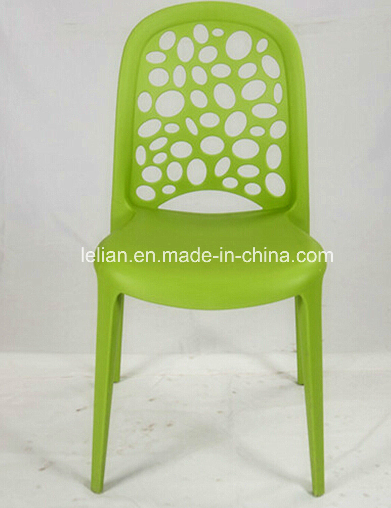 Colorful Plastic Stacking Side Garden Chair (LL-0037)