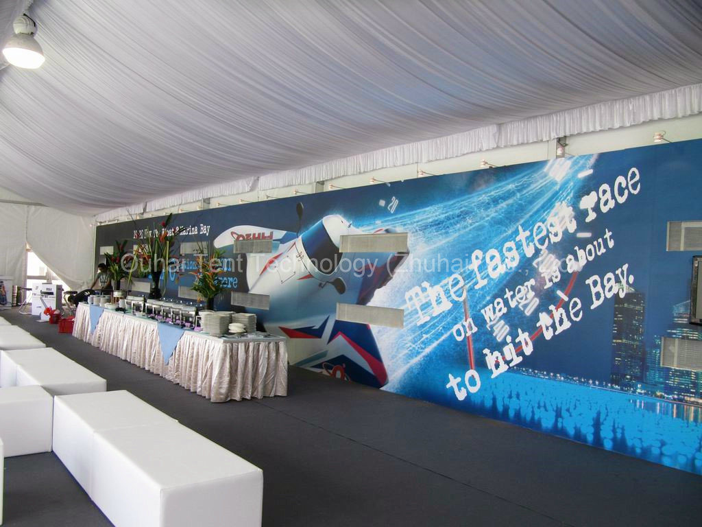 10m X 30m Event Tent with Glass Wall for Outdoor Event Party Wedding