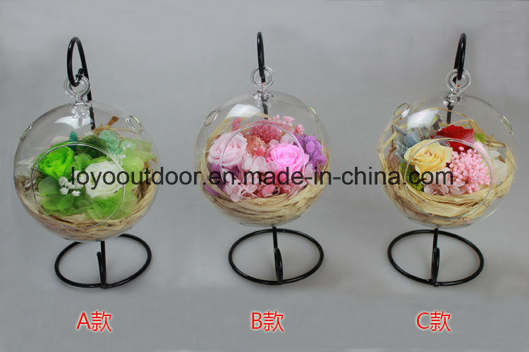 Christmas Decoration Silk Flowers Preserved Natural Roses