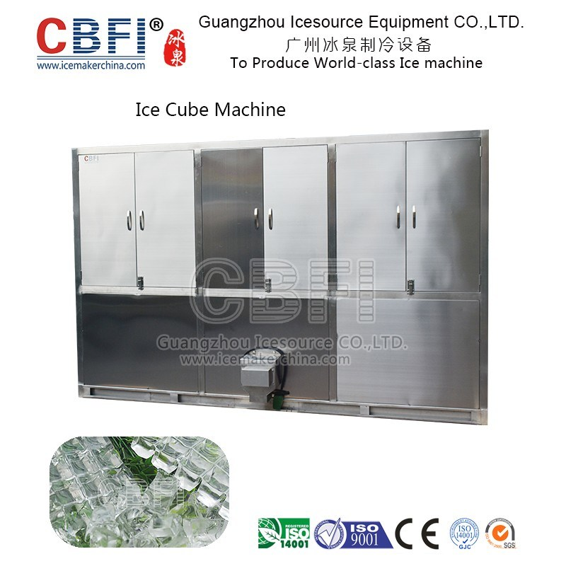 Large Capacity 10 Tons Cube Ice Machine