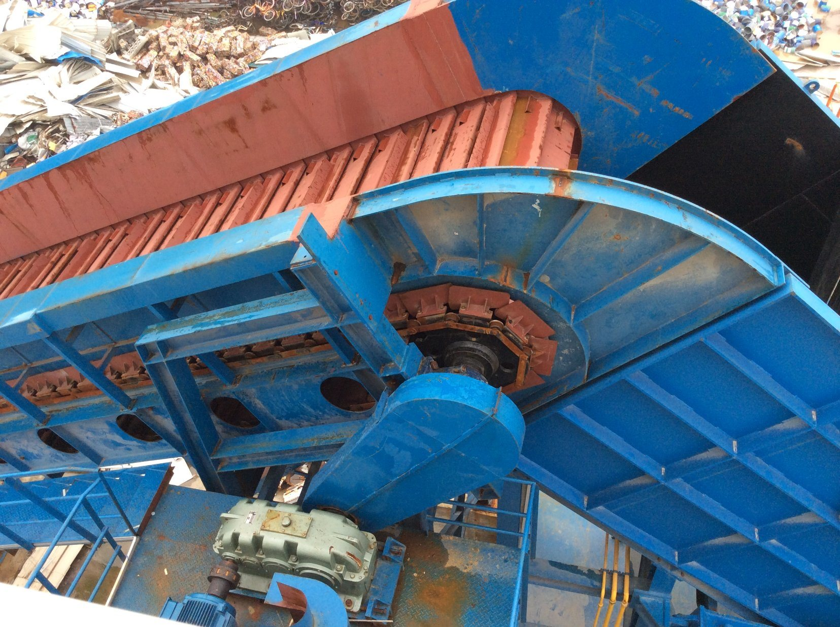 Psx-900 Scrap Shredder Machine