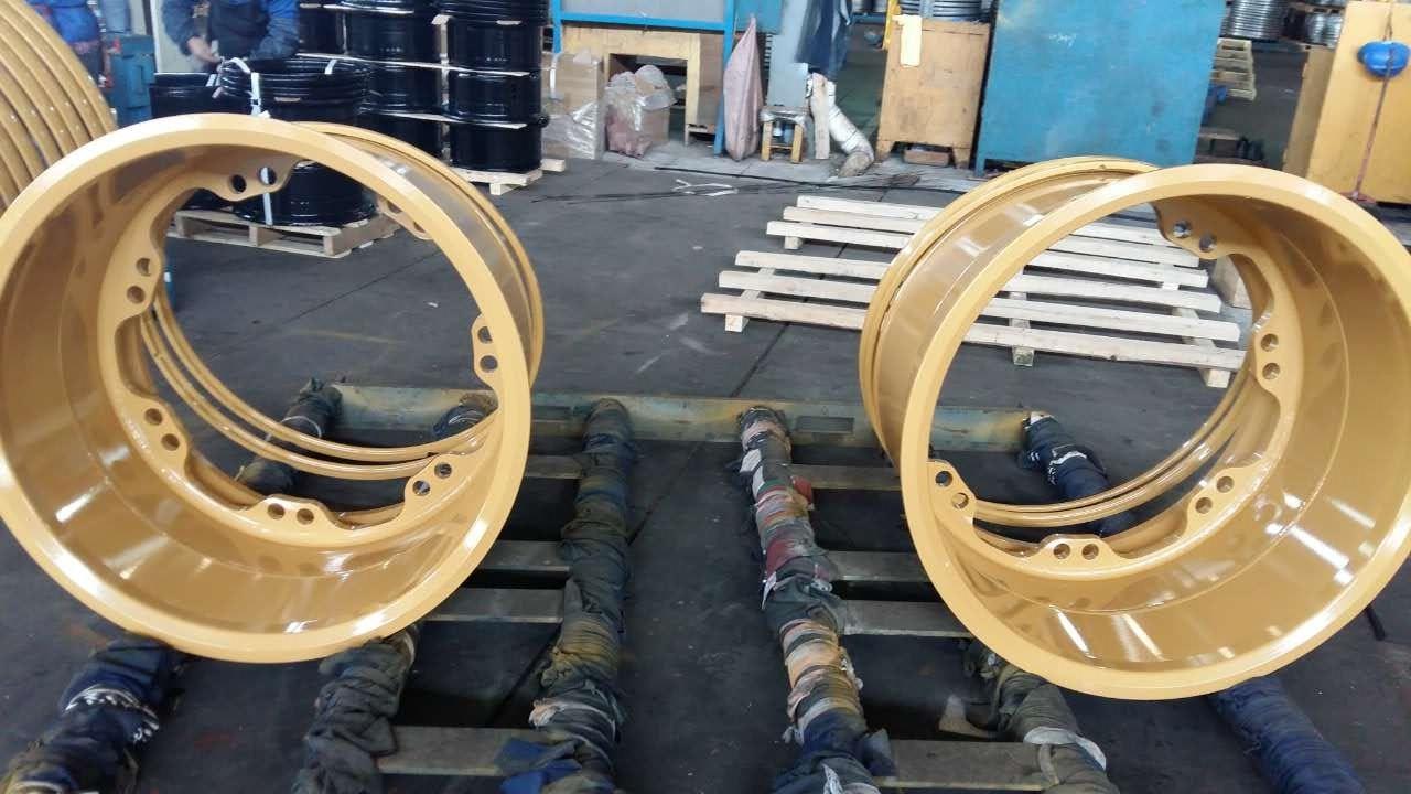 Heavy Duty Steel OTR Wheel Rim for Construction, Mining, Material Handling