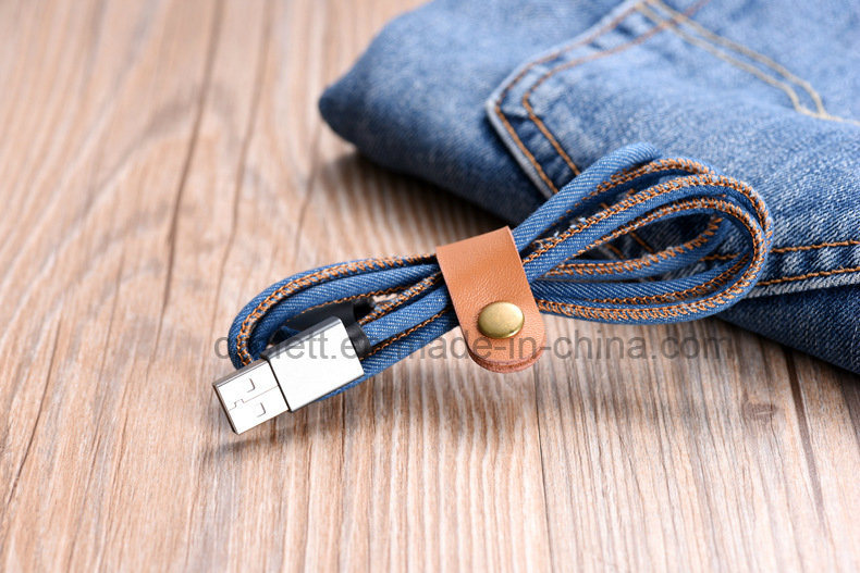 Jeans Charger&Transfer Data iPhone USB Cable