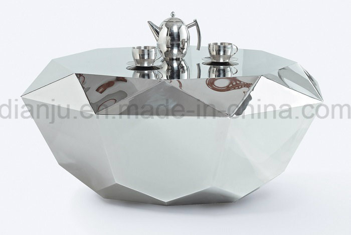 Home Furniture Stainless Steel Special Design Coffee Table (CT811)