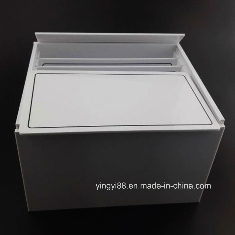 Wholesale White Acrylic Eyelash Box, Lashmakers Organizer