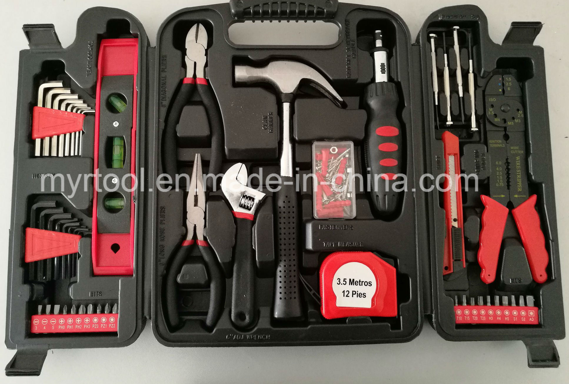 Best Selling 129PCS Professional Household Tool Kit (FY129B)