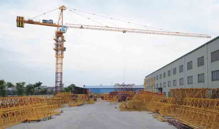 6ton Qtz80 (TC5014) Max Load Construction Tower Crane
