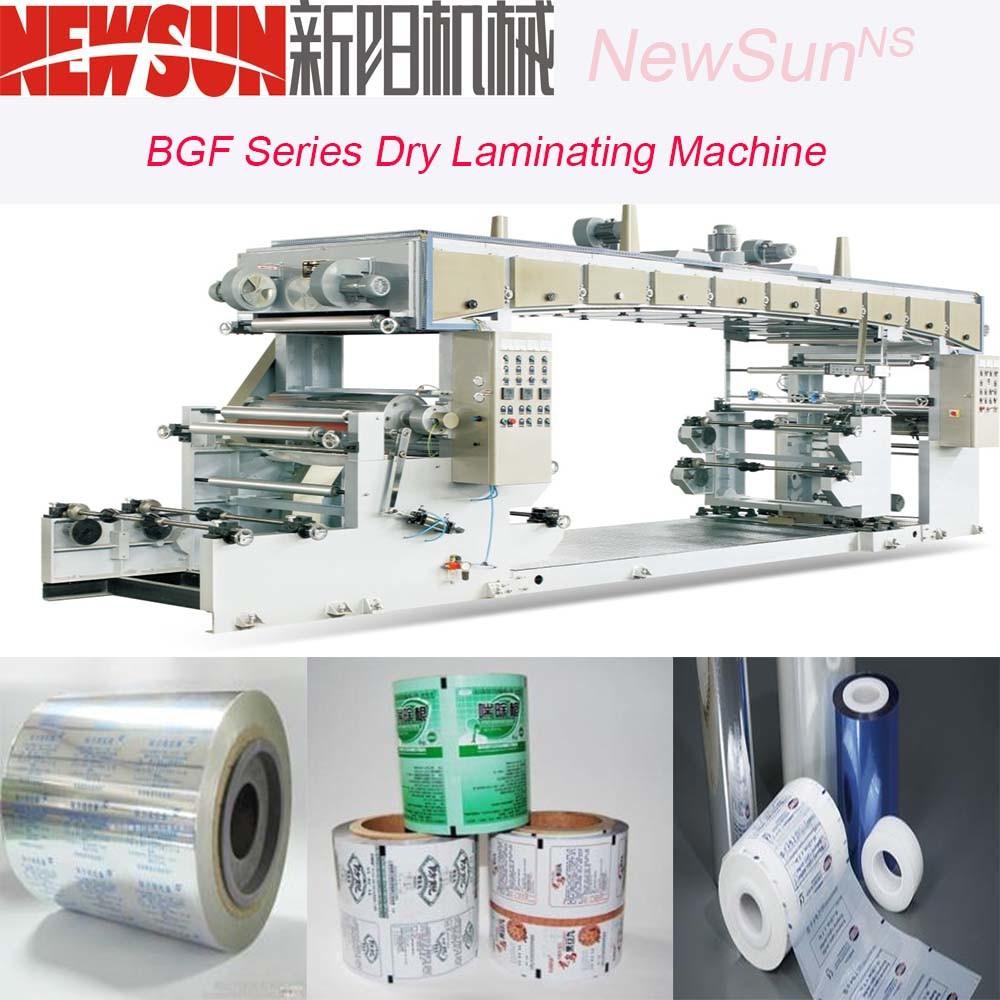 Bgf Series Plastic-Plastic Compounding Dry Laminating Machine