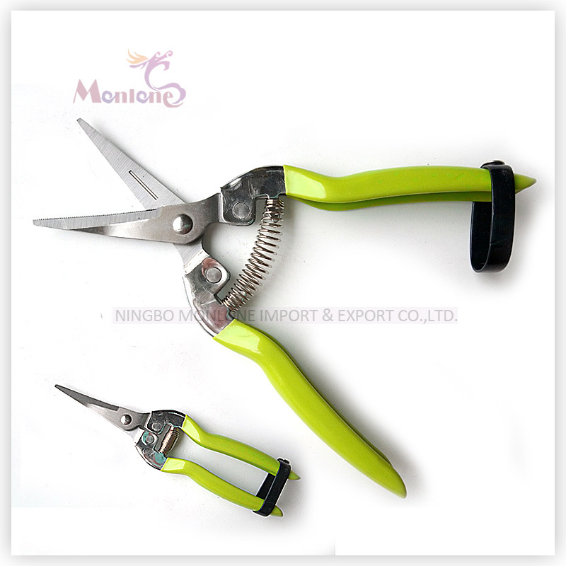 Garden Pruning Tools Shear Fruit Picking Scissors Length=19cm