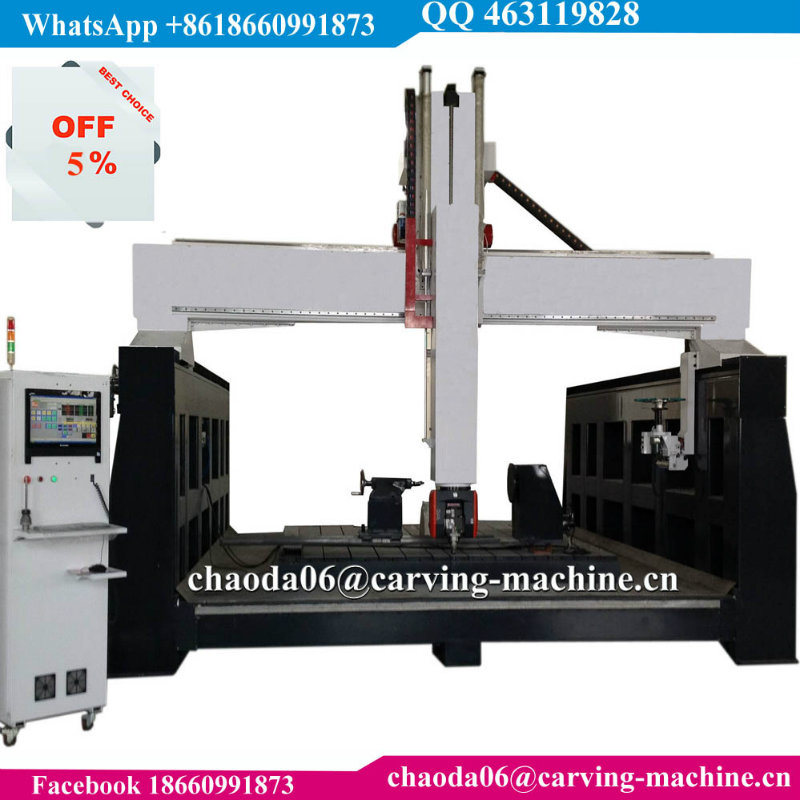 Cheap Price 3D Mould Sculpture CNC Router 5 Axis (JC3030)