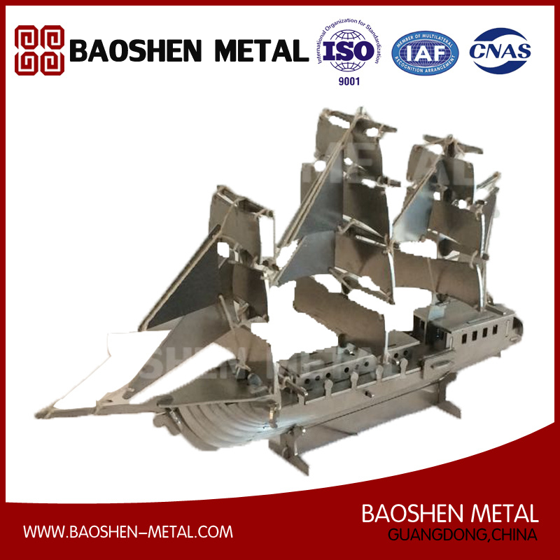 Boat/Ship Metal Office/Exhibition Hall/Gift/Home Decoration Stainless Steel Craft