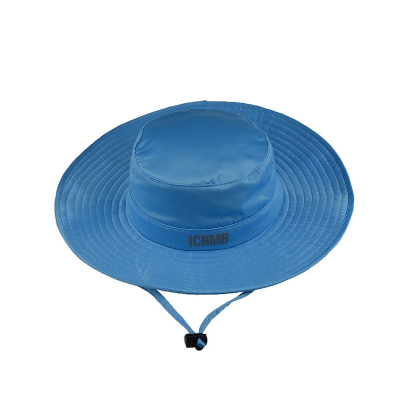Custom Fashion Fishing Man Bucket Hat Wide Brim Summer Hat