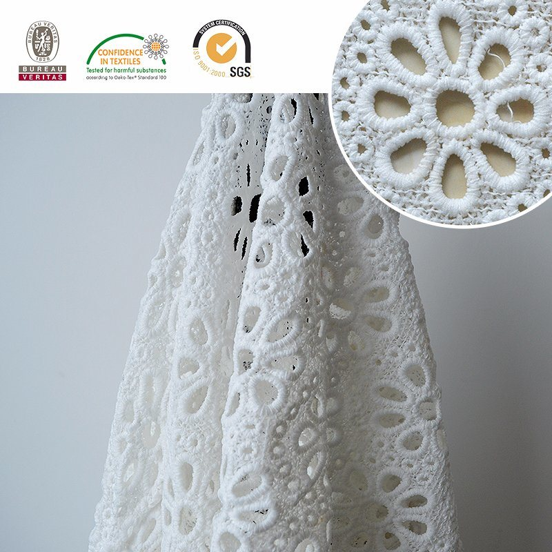 Lady Textiles Lace Fabric, Popular and Best Quality, Floral Pattern 2017 E20039