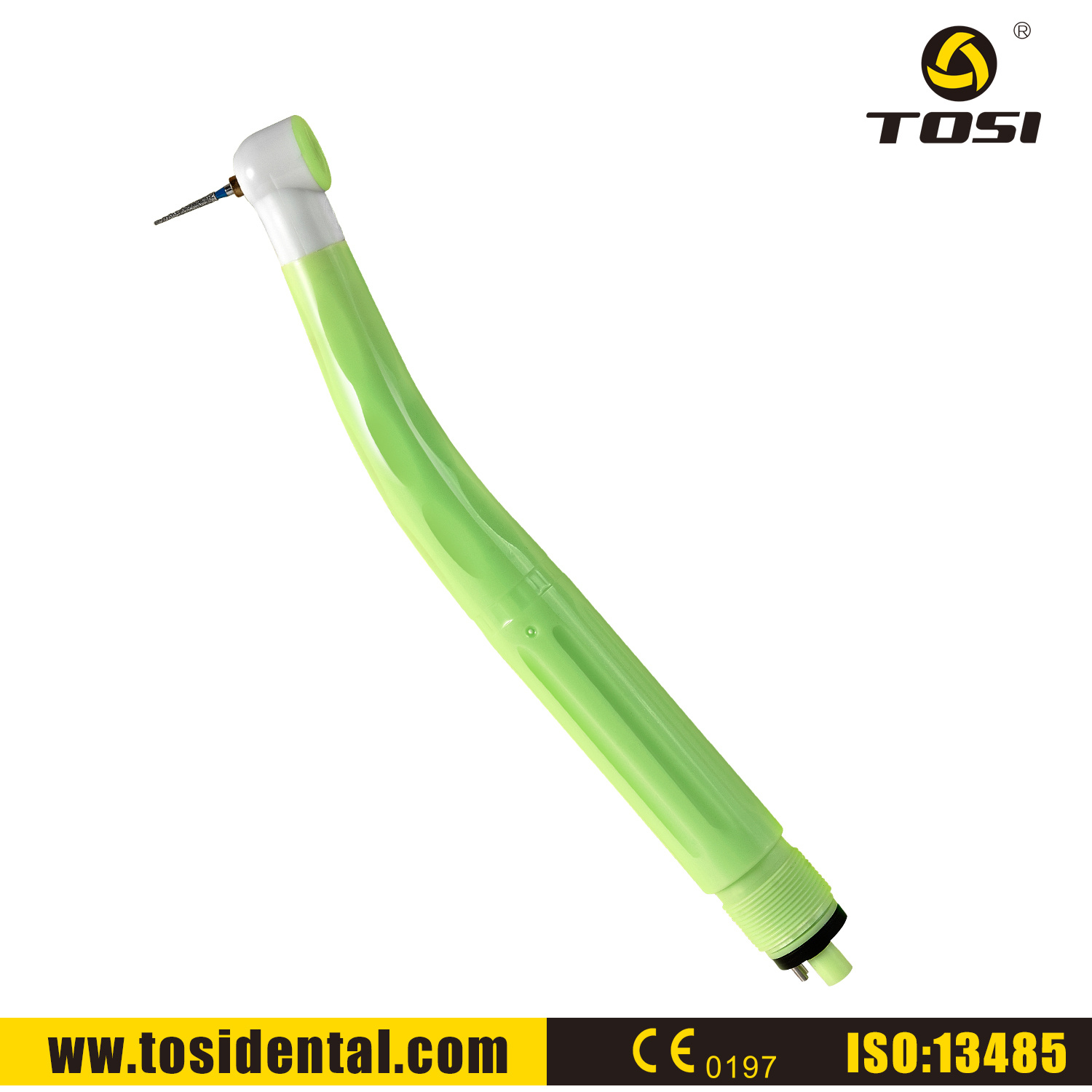 Tosi High Speed Air Turbine Individual Dental Handpiece Without Quick Connector