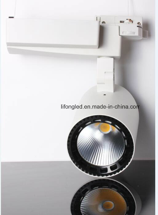 High Quality White & Black LED Down Tube Track Light, 35W COB Track Light