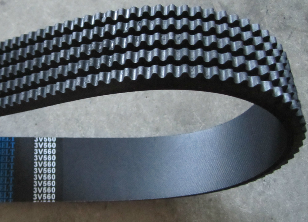 Excellent Resistant to Oil and Heat Raw Edge Cogged Automotive Belts