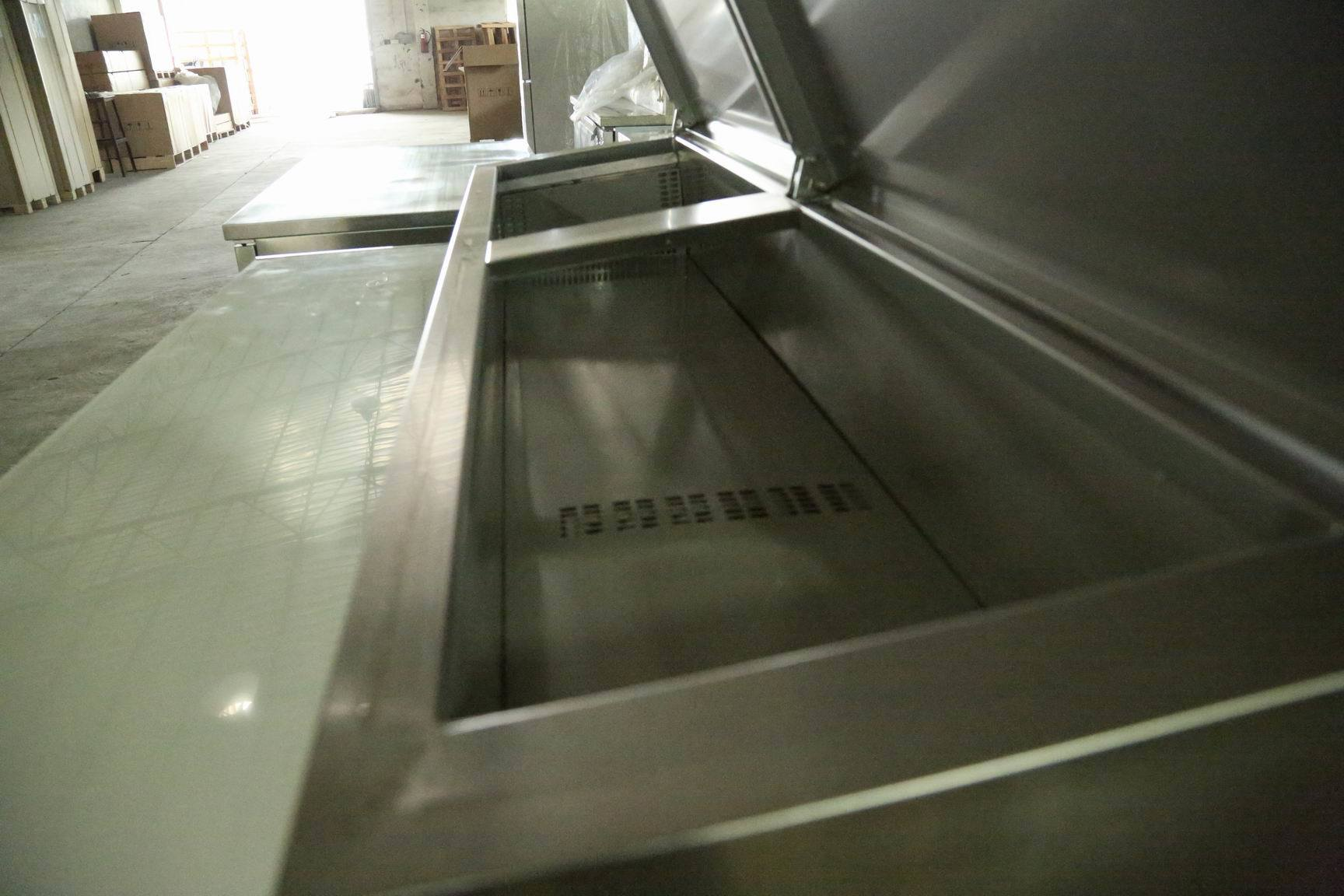 Stainless Steel Sandwich Counter Fridge Sh3000/800