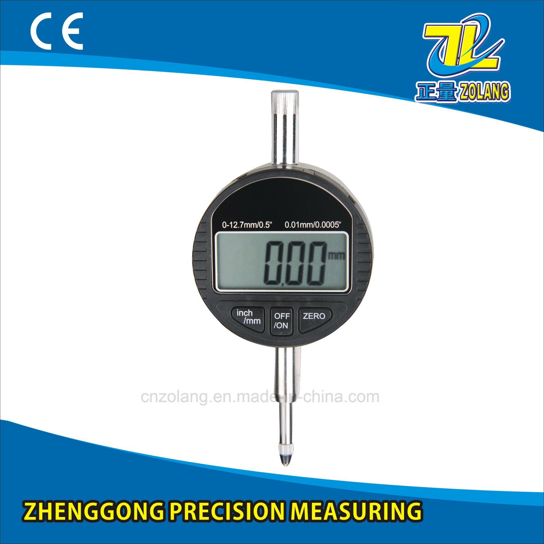 High Accuracy Measuring Tool Digital Indicators/Micron Digital Indicators 0-12.7mm/0-25.4mm