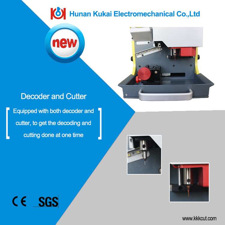 Great Promotion Portable China Sec-E9 Automatic Duplicate Car Key Code Cutting Machine Key Copy Machine