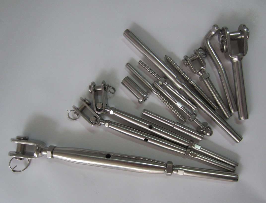 Stainless Steel Europe Type Turnbuckle Hook&Hook, Eye & Eye, Eye &Hook
