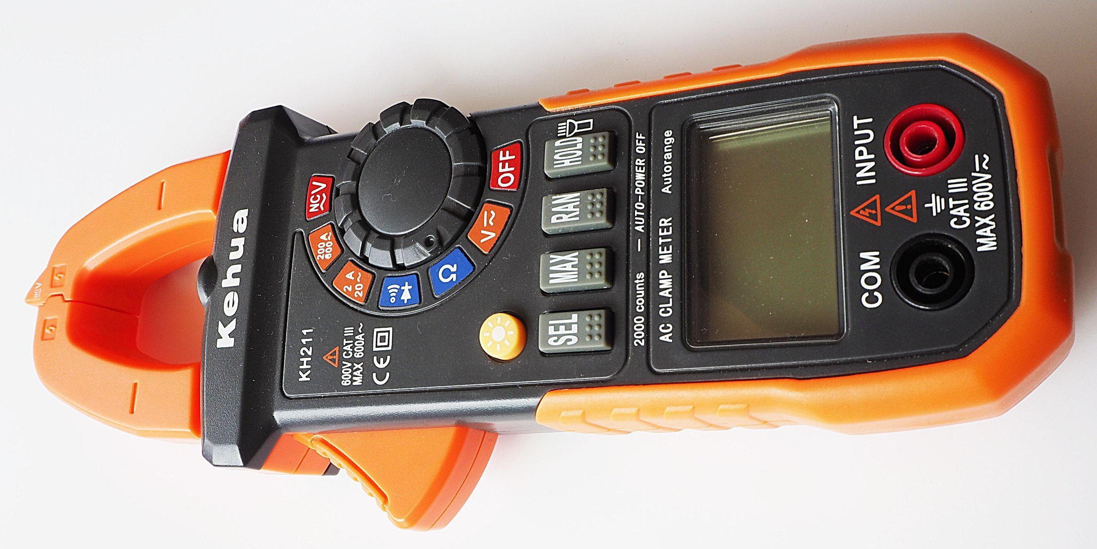 Digital Clamp Meter (KH211) with ISO Certified