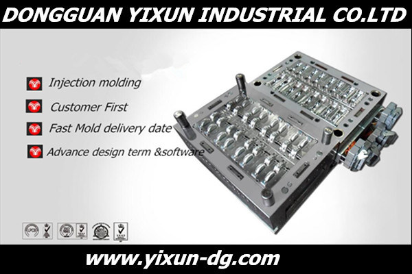 OEM Plastic Medical Tube Injection Mold