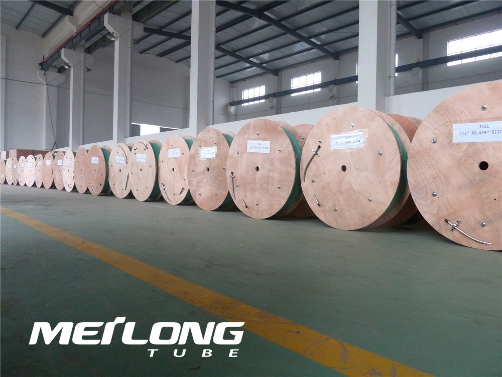 N08825 Nickel Alloy Downhole Hydraulic Control Line Coiled Tubing