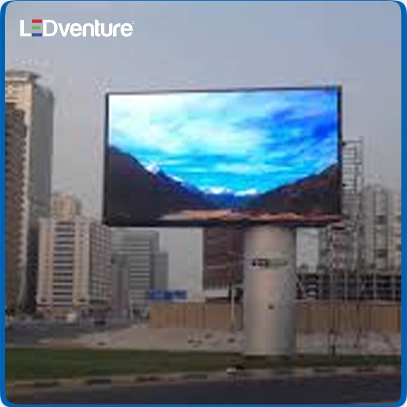HD Resolution Outdoor Full Color LED Screen Display for Advertising