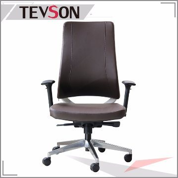 Leather Classical Swivel Aluminium Eames Manager Hotel Office Boss Chair (DHS-B220)
