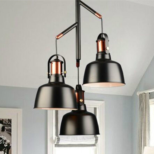 3 Heads Industrial Aluminum Pendant Lighting with Ce Certificated