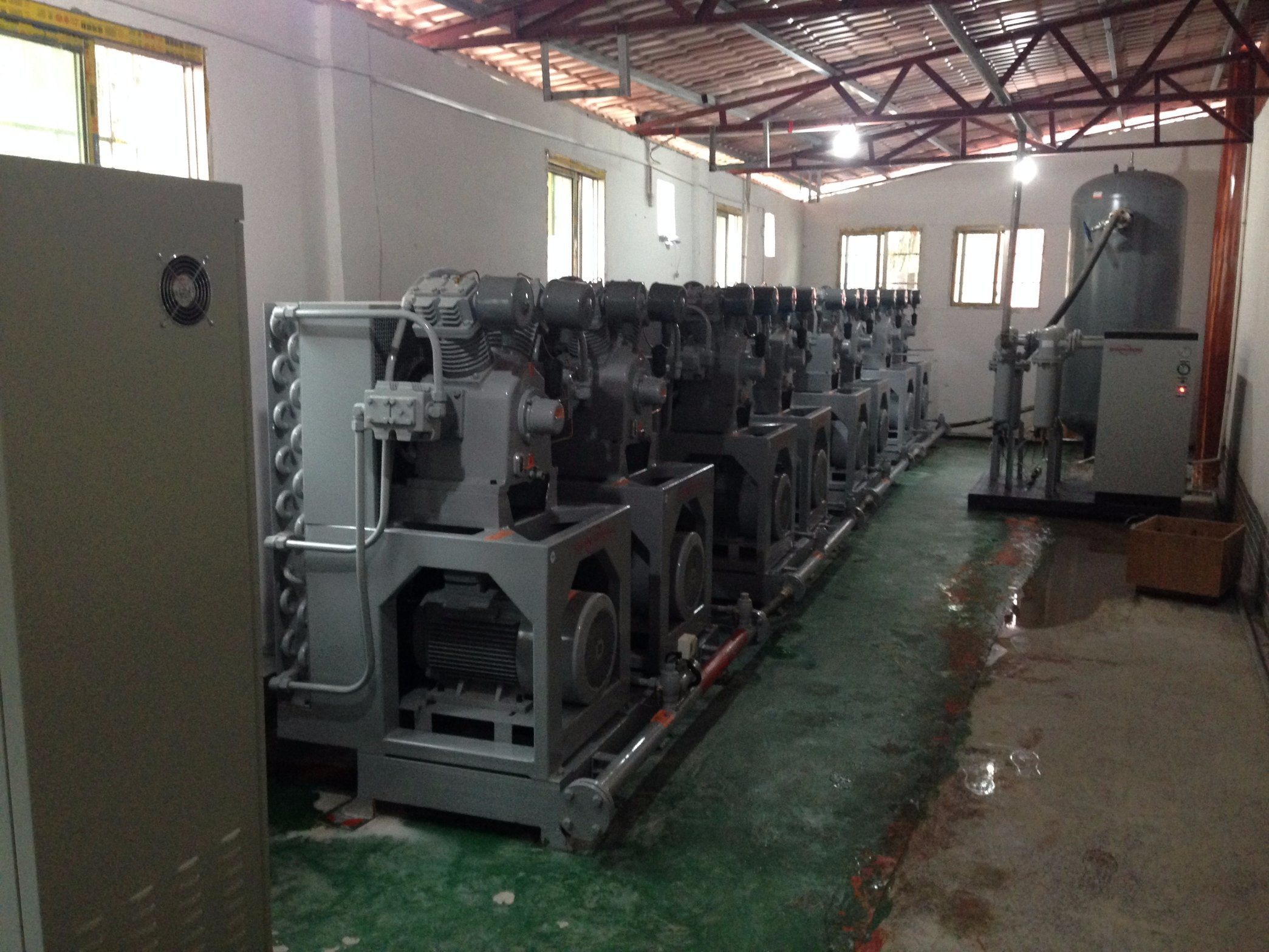 High Pressure Piston Air Compressor/Piston Compressor/Air Cooling Air Compressor