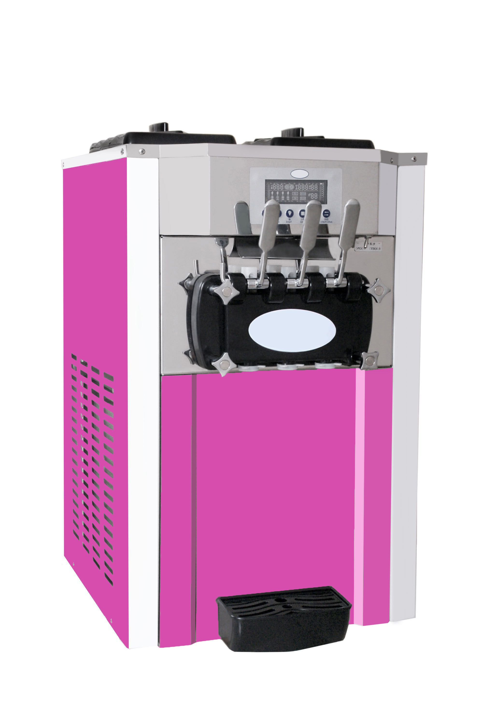 Pre Cooling Air Pump Soft Ice Cream Snack Machine Maker