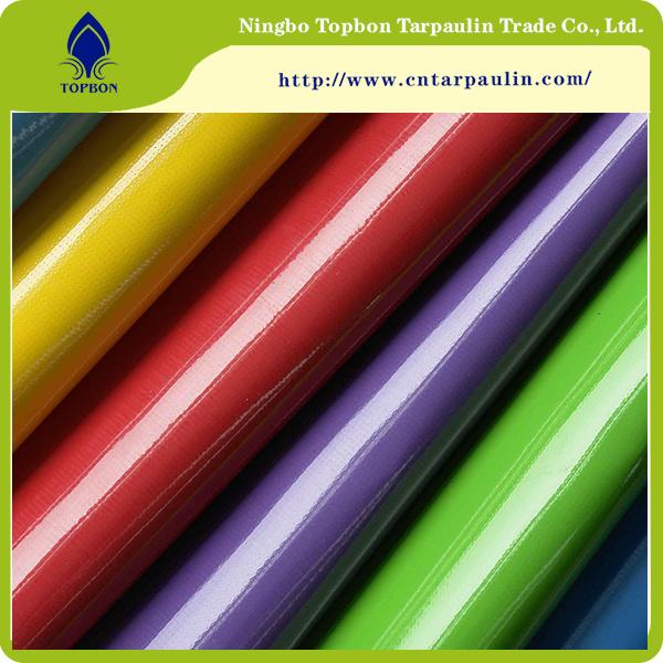 PVC Laminated Tarpaulin Side Curtain Waterproof Fabric Tb060