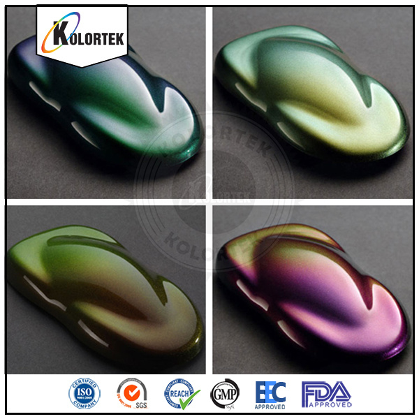 Kolortek Pearl Pigment Chameleon Chrome Paint Color Pigment