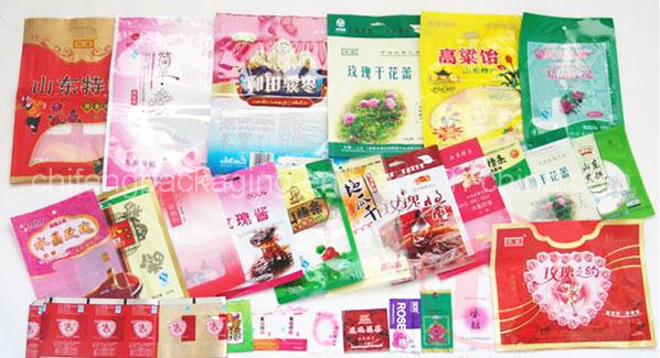 Food Packaging Bag with Gravure Printing