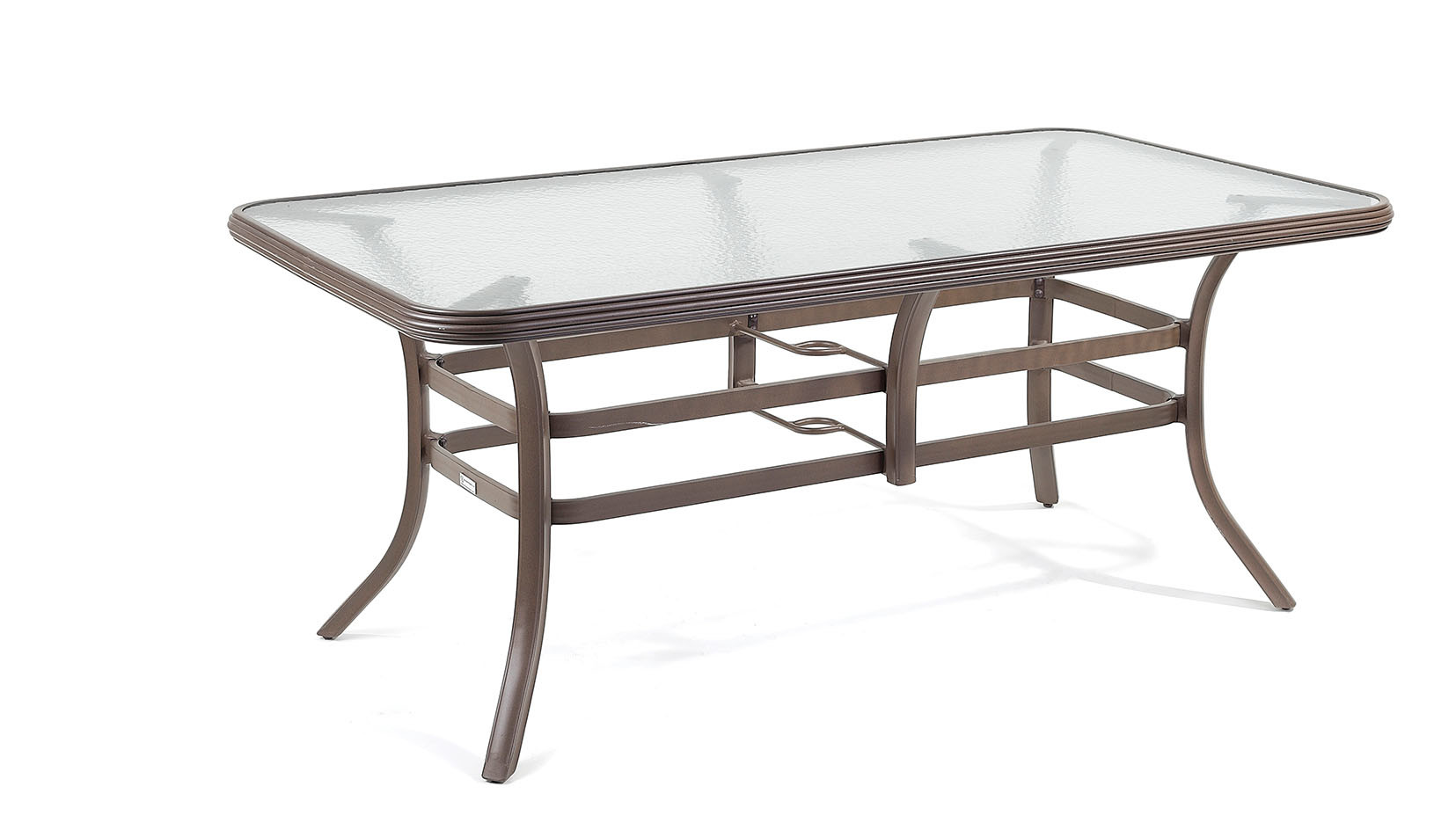 China rectangle dining table with top glass metal legs for Dining table with metal legs