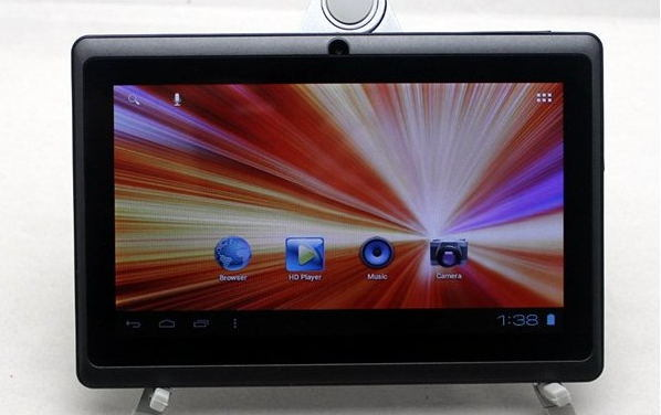7inch Allwinner A23 Dual Core Android Tablet PC with Bluetooth