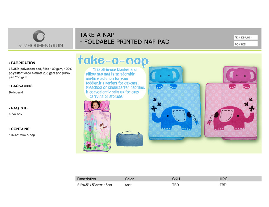 China Kids Line Nap Mat Elephant Photos Amp Pictures