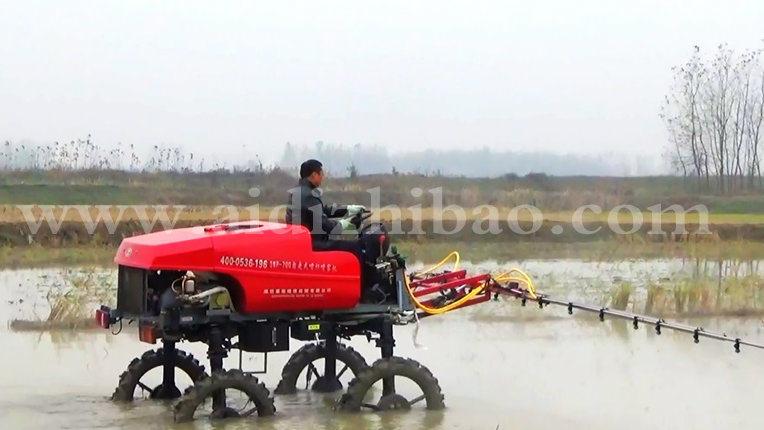 Aidi Brand Most Advanced Mist Engine Power Sprayer for Muddy Paddy Field and Farm
