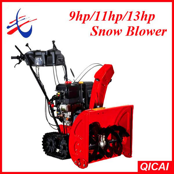 Blower Snow Removal Equipment : China loncin hp snow blower thrower removal