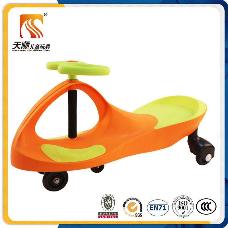 2016 Big Wheel Plastic Swing Car