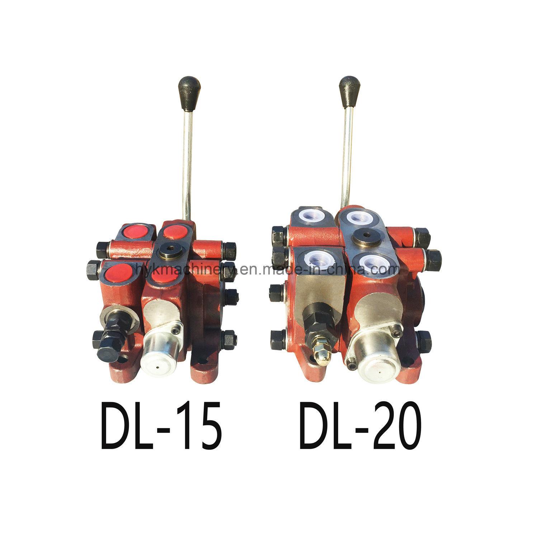 DL15 Excavator Hydraulic Pump Directional Control Spool Valve Relief Valve