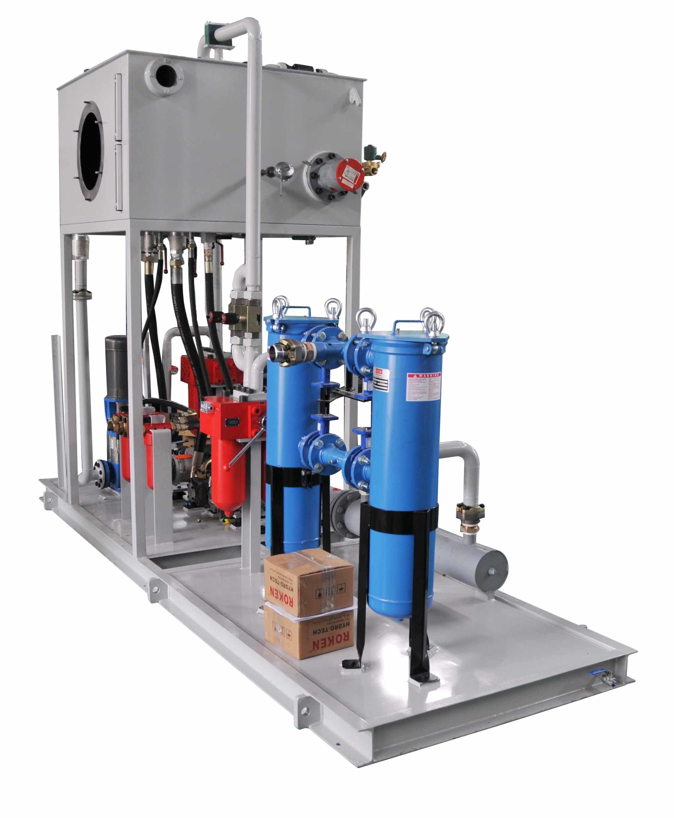 Hydraulic Lubrication System for Hydraulic Industry