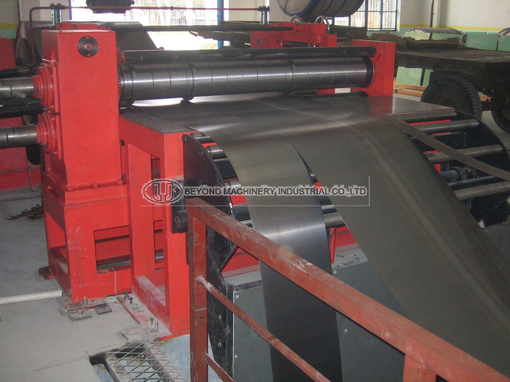 metal slitting machine