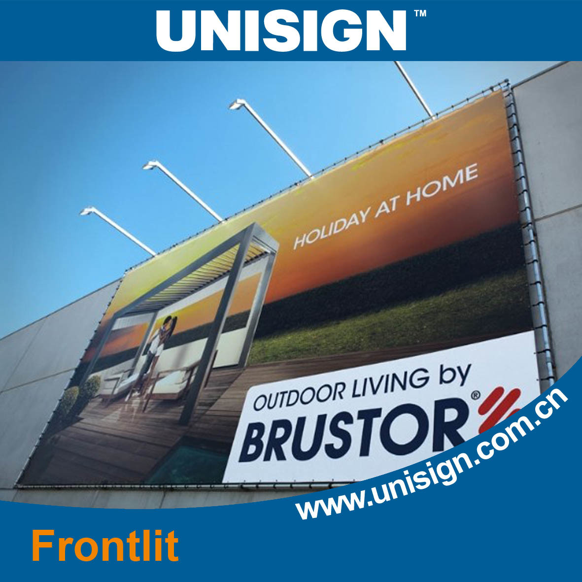 PVC Frontlit Flex Banner (LFG55/440)