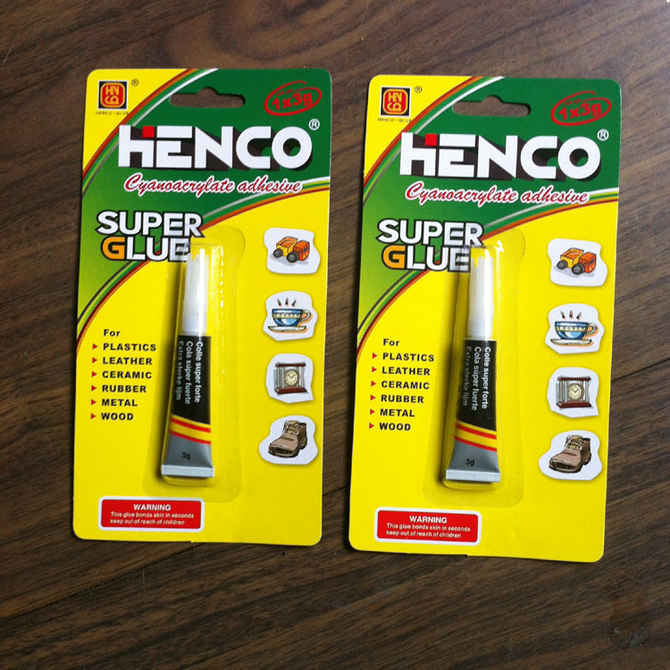 Fast Bond Super Glue in Aluminium Tube 3G/Tube