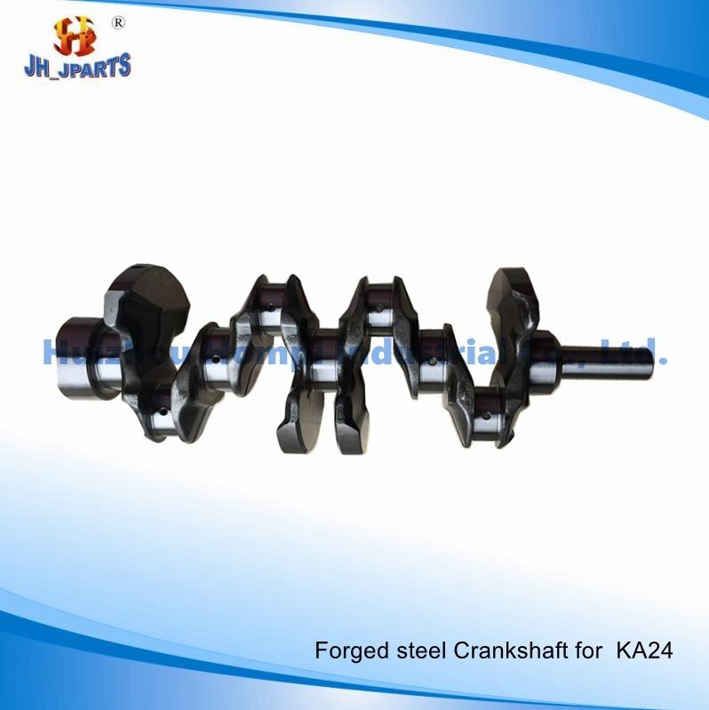 Forged Steel Crankshaft for Nissan Ka24 Ka24de Ka20/Kr30/Vk56de/K21